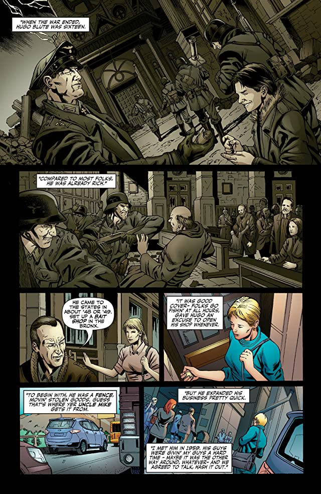 click for super-sized previews of Jennifer Blood: First Blood #4