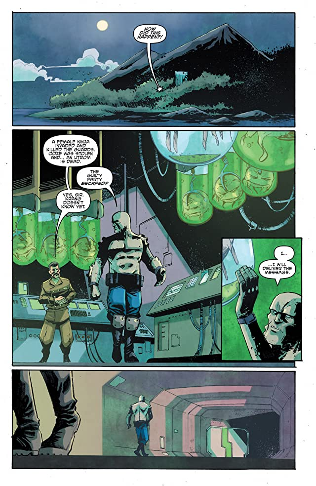 Teenage Mutant Ninja Turtles: Villains Micro-Series #1: Krang