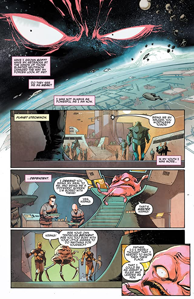 click for super-sized previews of Teenage Mutant Ninja Turtles: Villains Micro-Series #1: Krang