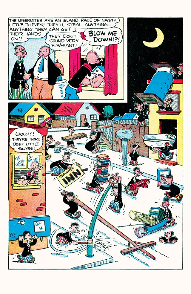 click for super-sized previews of Popeye Classics #9