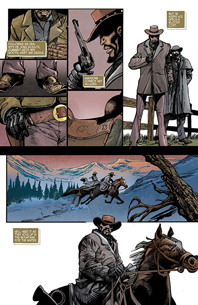 click for super-sized previews of Django Unchained #3