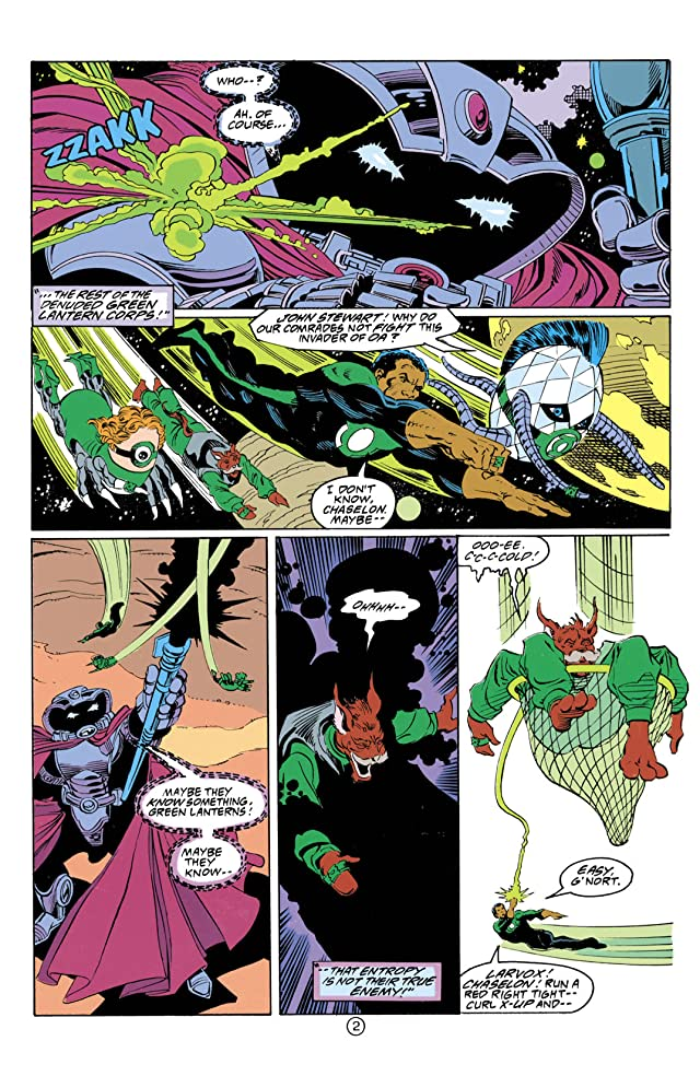 click for super-sized previews of Green Lantern (1990-2004) #35