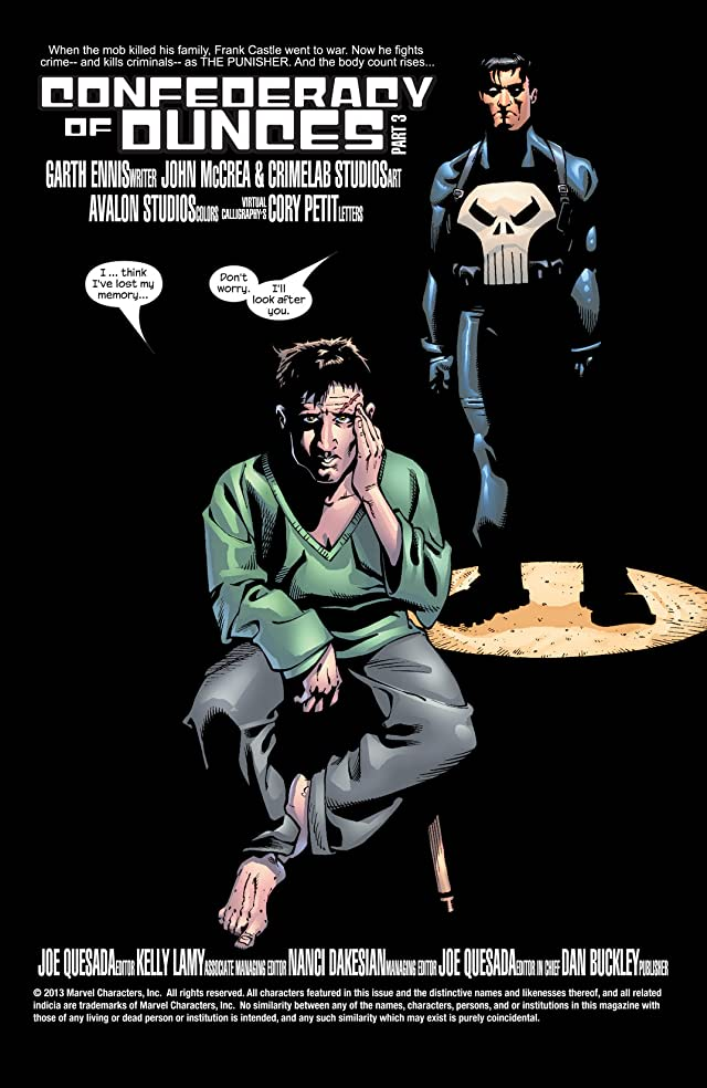 click for super-sized previews of The Punisher (2001-2003) #35
