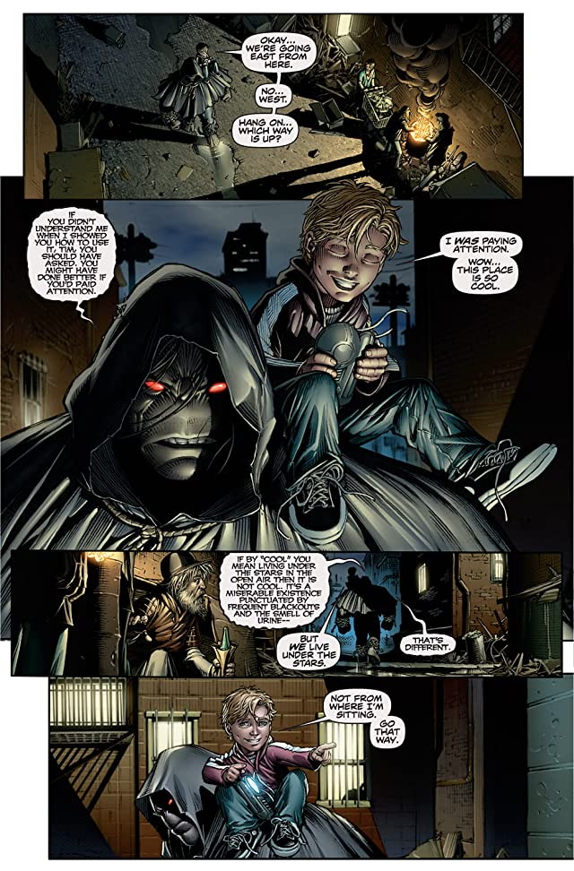 click for super-sized previews of The Darkness/Pitt #1 (of 3)