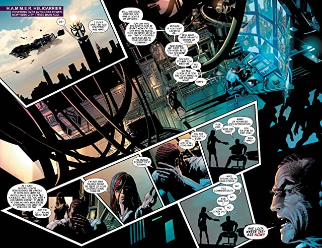 click for super-sized previews of Dark Avengers #14