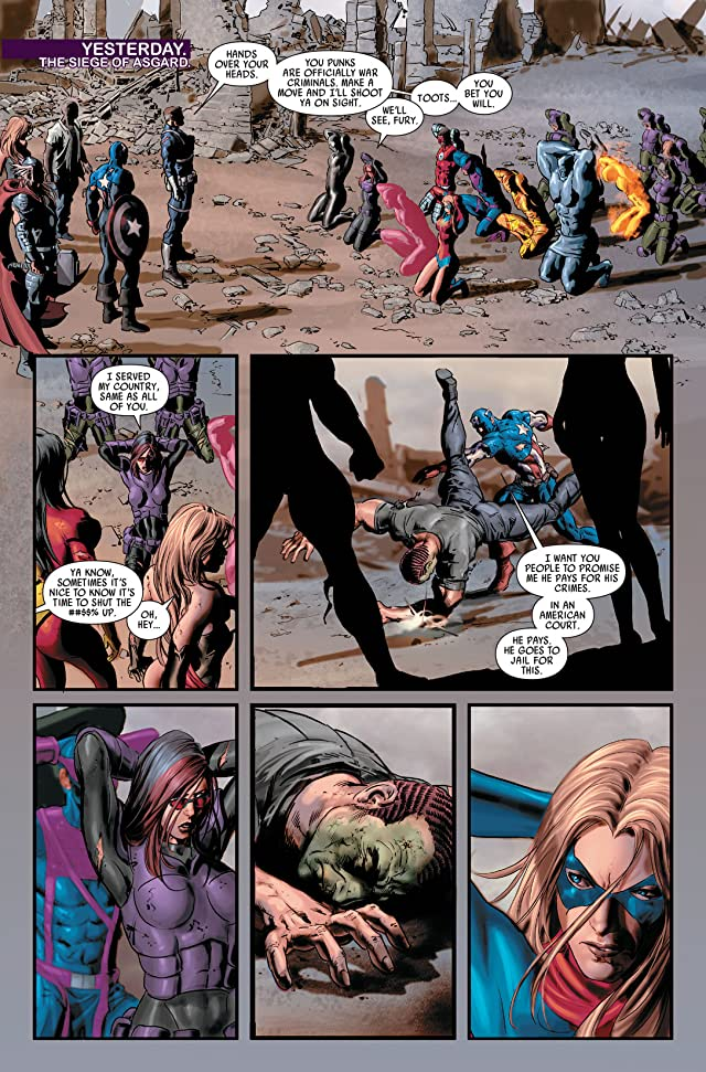 click for super-sized previews of Dark Avengers #16
