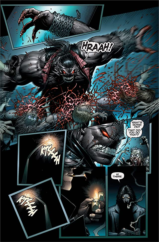 click for super-sized previews of The Darkness/Pitt #1
