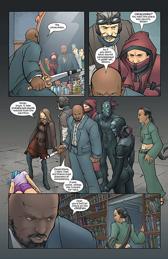 click for super-sized previews of Runaways (2003-2004) #2