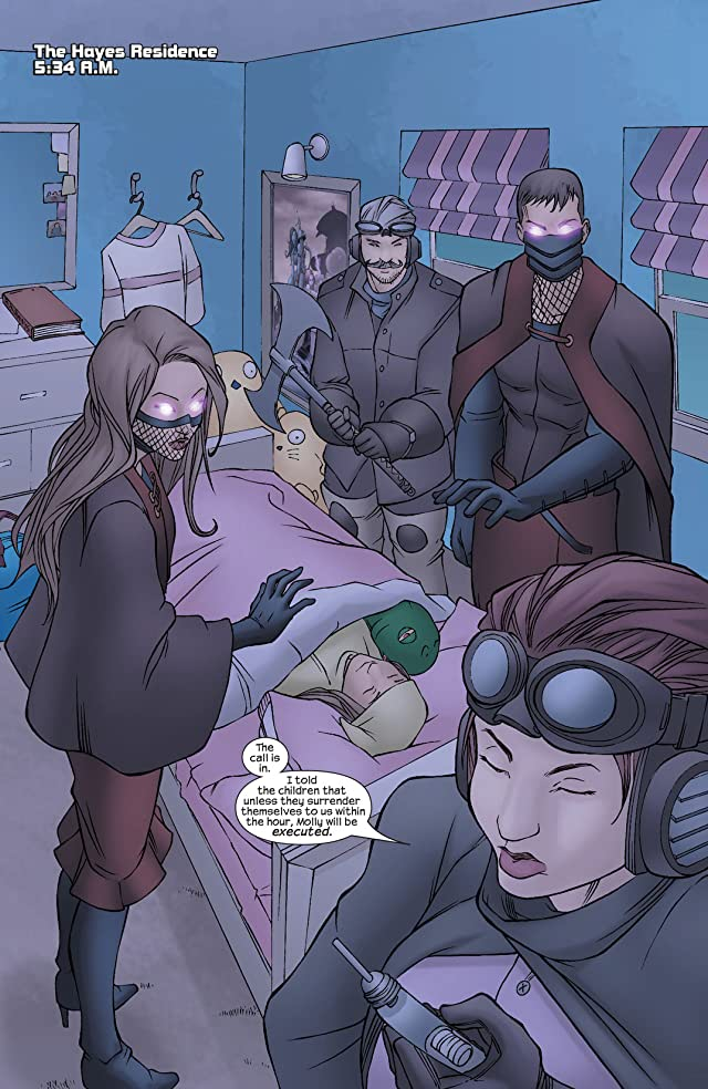 click for super-sized previews of Runaways (2003-2004) #5