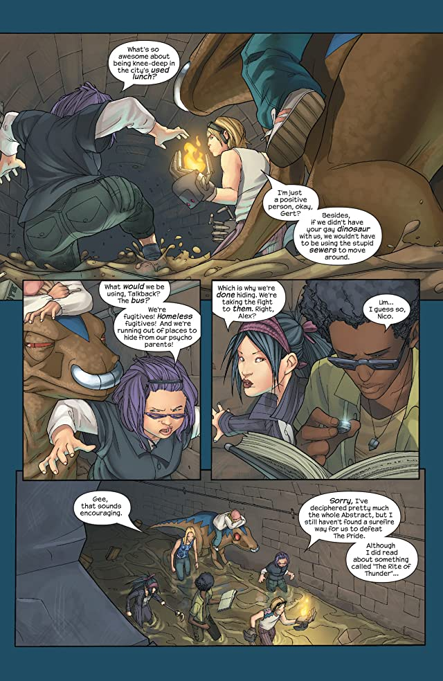 click for super-sized previews of Runaways (2003-2004) #15