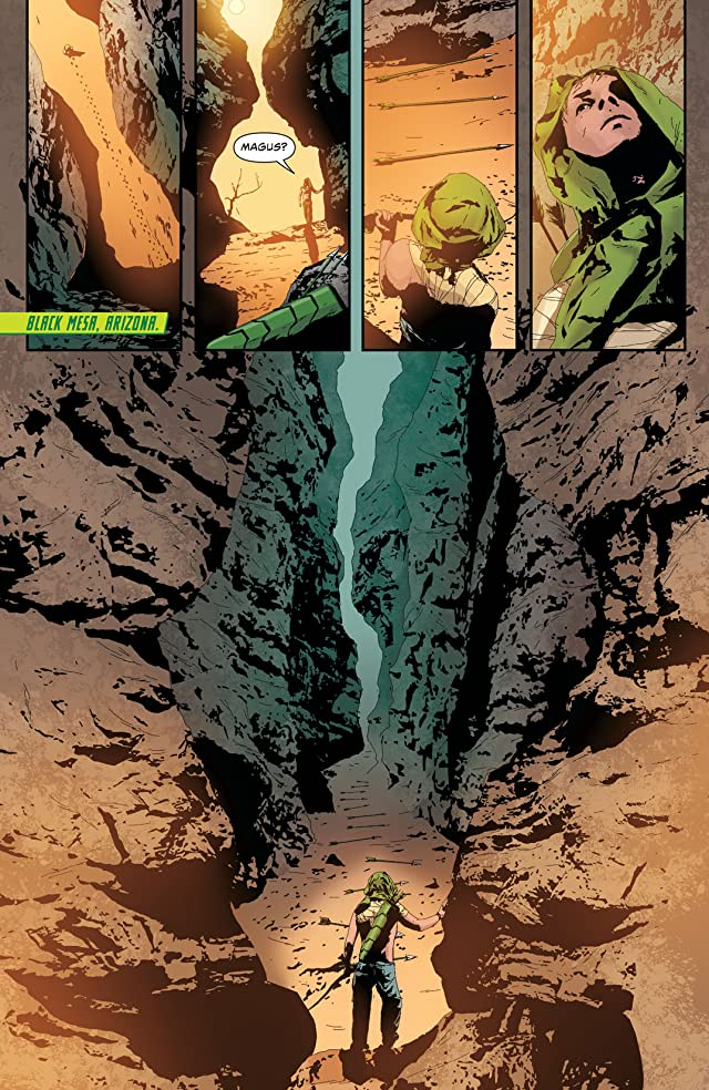 click for super-sized previews of Green Arrow (2011-) #19