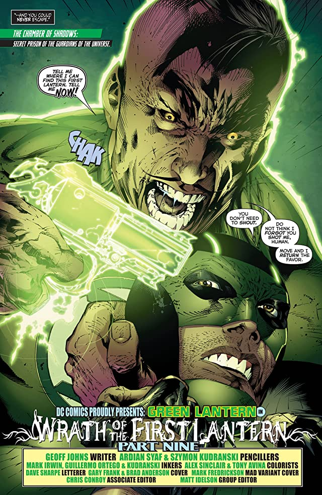 Green Lantern (2011-2015) #19