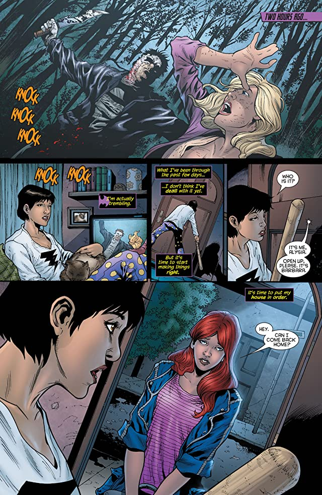 click for super-sized previews of Batgirl (2011-) #19