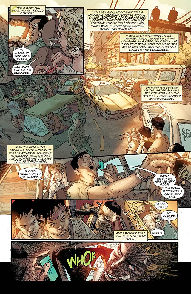 click for super-sized previews of Constantine (2013-2015) #2
