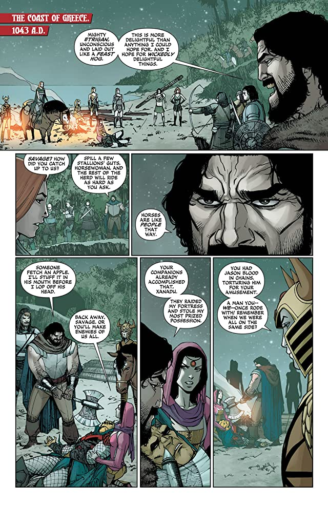 click for super-sized previews of Demon Knights (2011-2013) #19