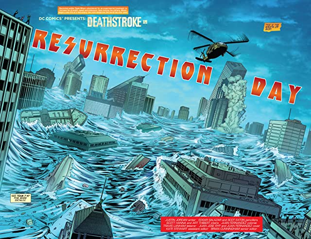 click for super-sized previews of Deathstroke (2011-2013) #19
