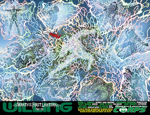 click for super-sized previews of Green Lantern Corps (2011-2015) #19