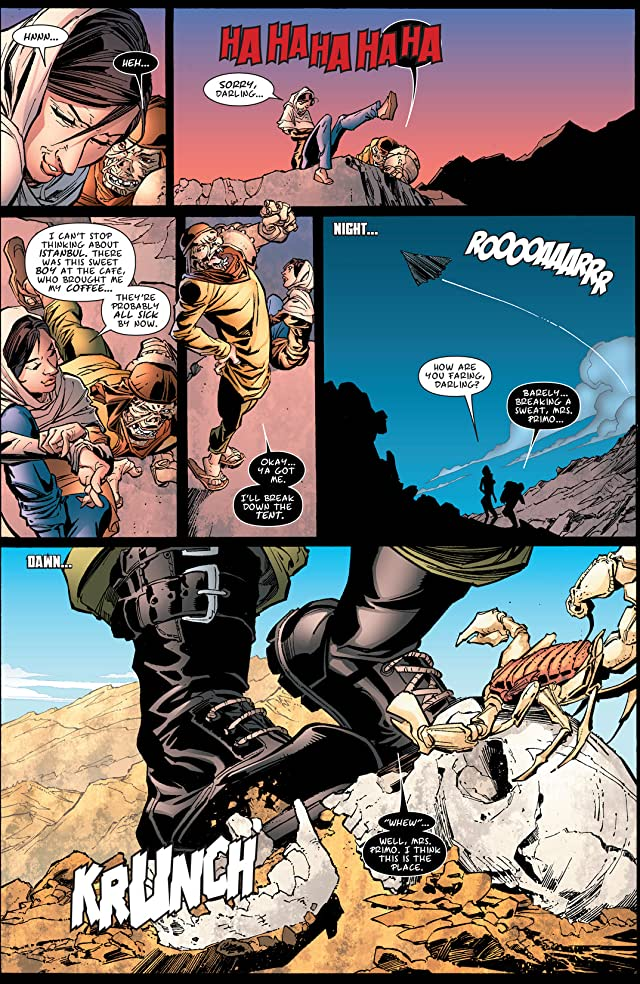 click for super-sized previews of Terror, Inc. #3: Apocalypse Soon