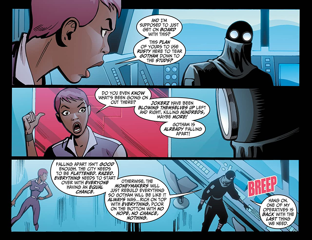 Batman Beyond (2012-2013) #21