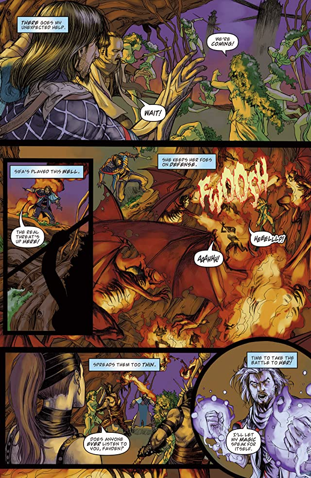 click for super-sized previews of Magic the Gathering: Path of Vengeance #4
