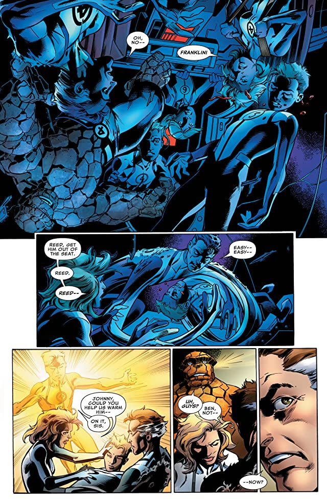 click for super-sized previews of Fantastic Four (2012-2014) #7