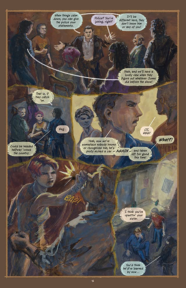 click for super-sized previews of BloodDreams #2