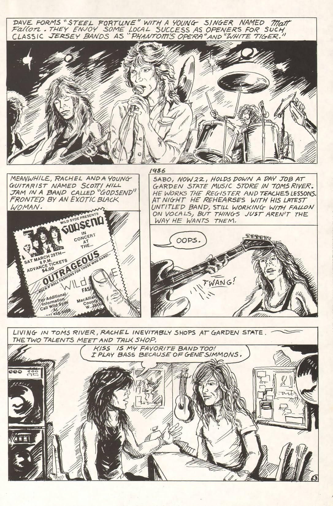 Rock N Roll Comics: Hard Rock Heroes