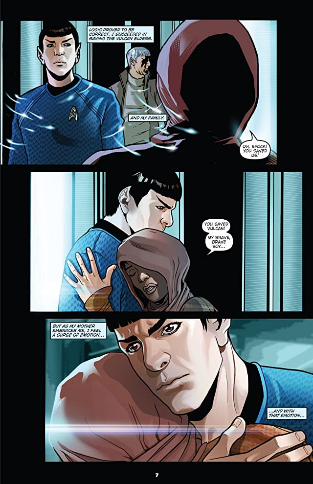 click for super-sized previews of Star Trek: Countdown To Darkness