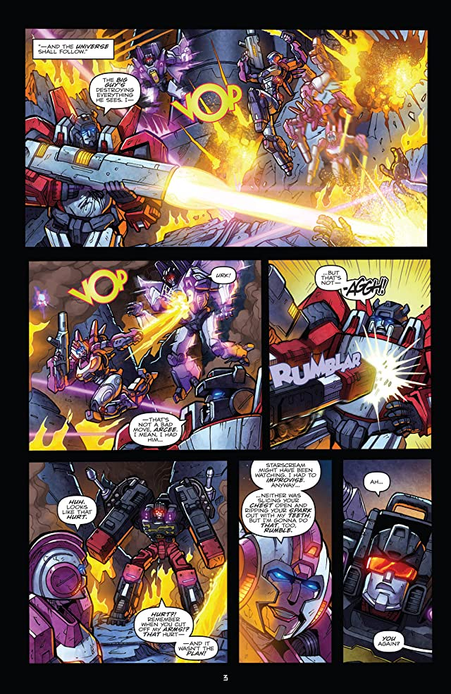 click for super-sized previews of Transformers: Robots In Disguise (2011-) #16
