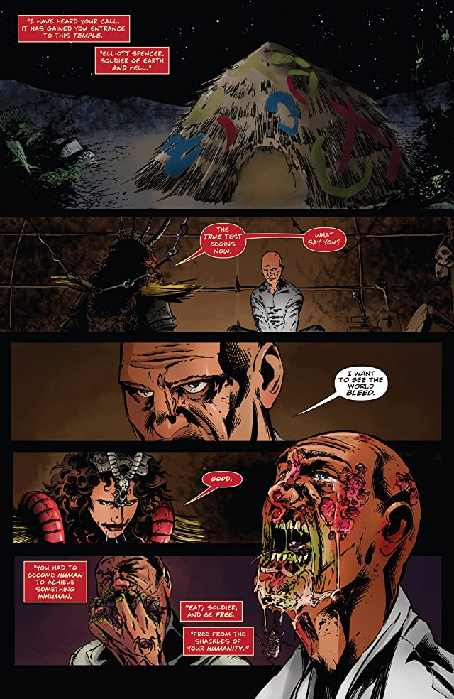 click for super-sized previews of Hellraiser: The Dark Watch #3