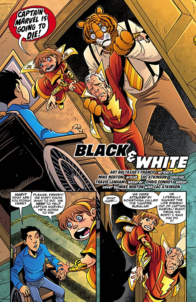 click for super-sized previews of Billy Batson and the Magic of Shazam! #19
