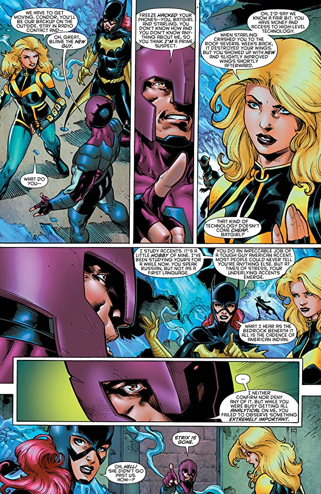 click for super-sized previews of Birds of Prey (2011-2014) #19