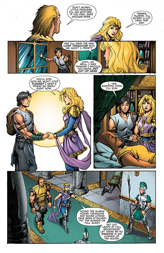 click for super-sized previews of Sword of Sorcery (2012-2013) #7