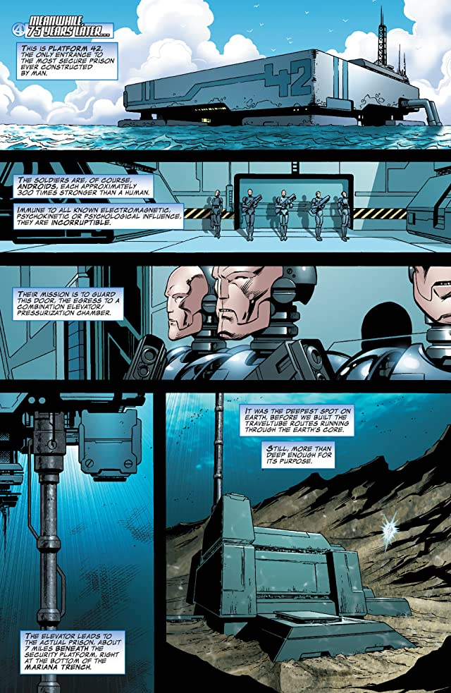 click for super-sized previews of Fantastic Four (1998-2012) #551