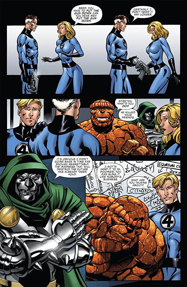 click for super-sized previews of Fantastic Four (1998-2012) #552