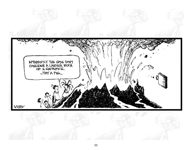 click for super-sized previews of Legal Lampoon: A biased, unfair, and completely accurate law review from Non Sequitur