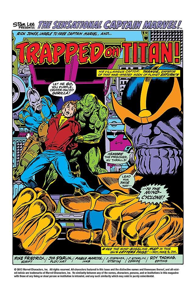 Captain Marvel (1968-1979) #27