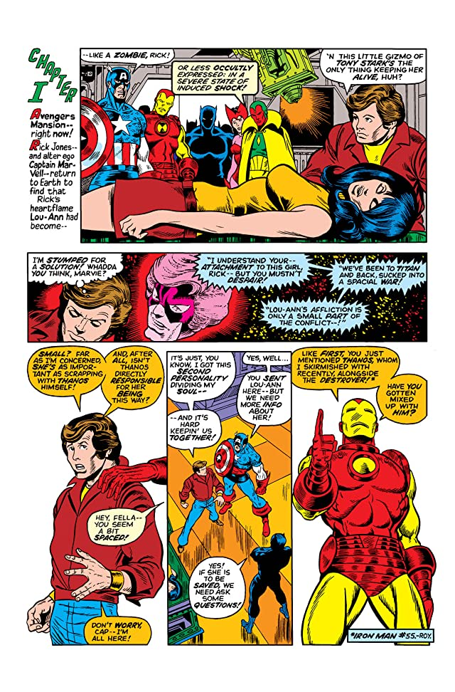 click for super-sized previews of Captain Marvel (1968-1979) #28