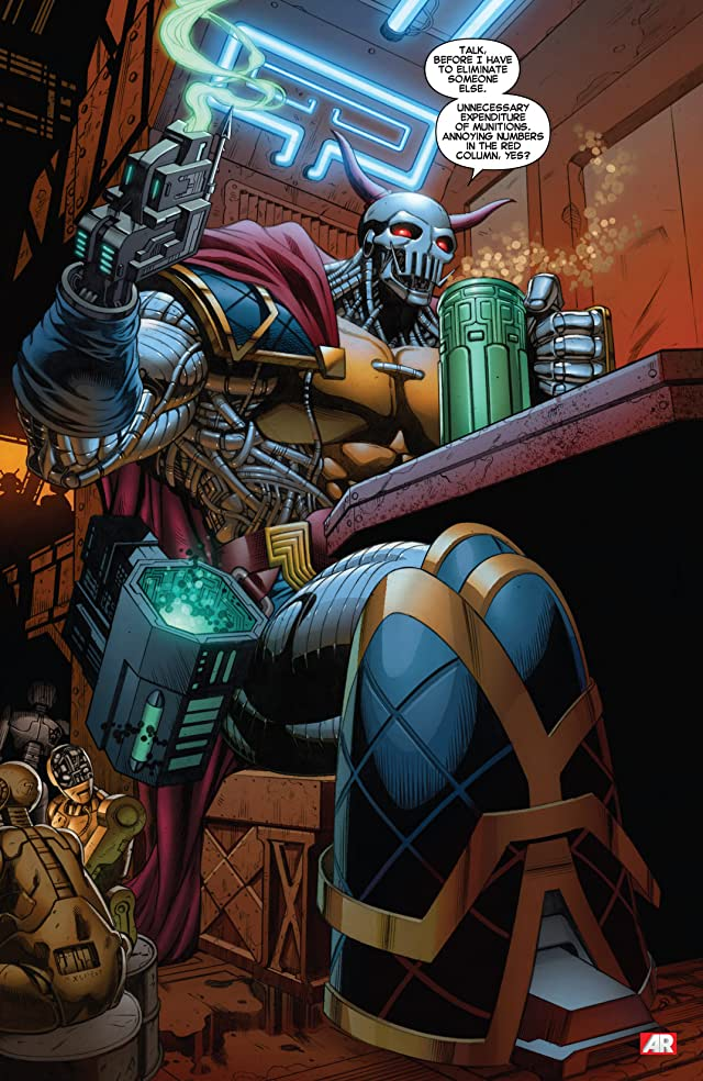 click for super-sized previews of Iron Man (2012-) #9