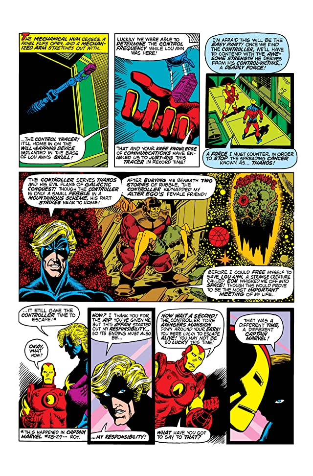 click for super-sized previews of Captain Marvel (1968-1979) #30
