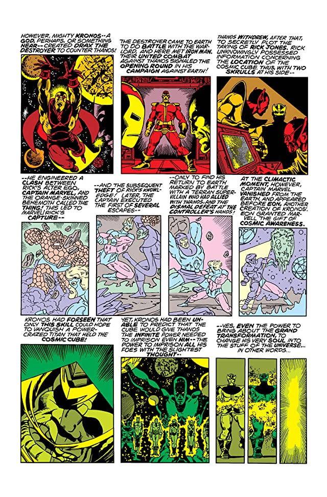 click for super-sized previews of Captain Marvel (1968-1979) #33