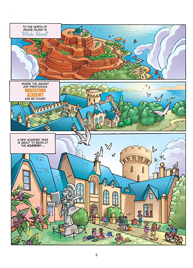 click for super-sized previews of Thea Stilton Vol. 1: The Secret Whale Island Preview