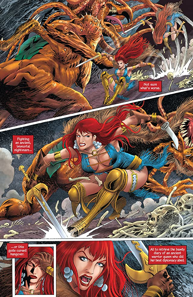 Red Sonja: Unchained #2 (of 4)