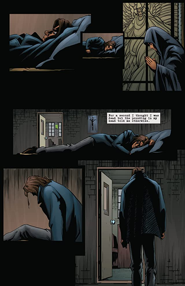 click for super-sized previews of Sins of the Fallen #4: The Nightstalker