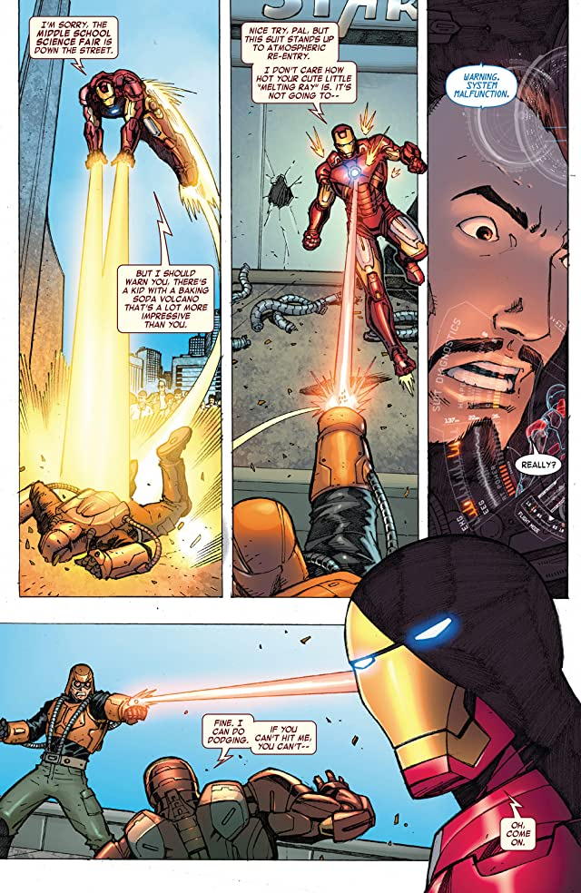 click for super-sized previews of Iron Man: The Coming Of The Melter! #1