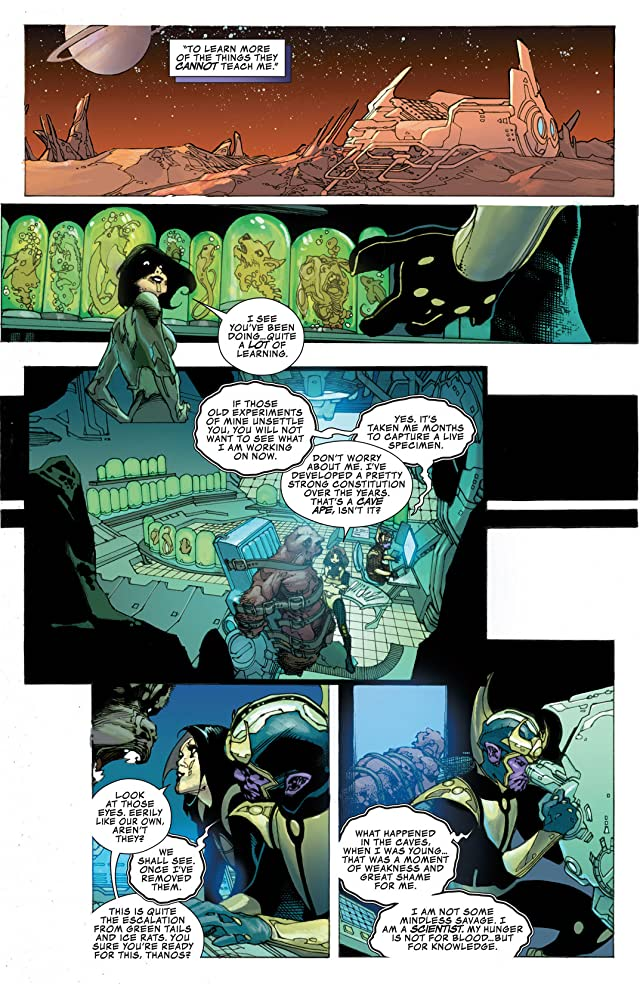 click for super-sized previews of Thanos Rising #2 (of 5)