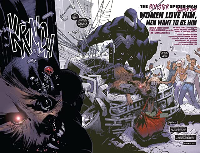 click for super-sized previews of Dark Reign: The Sinister Spider-Man #1