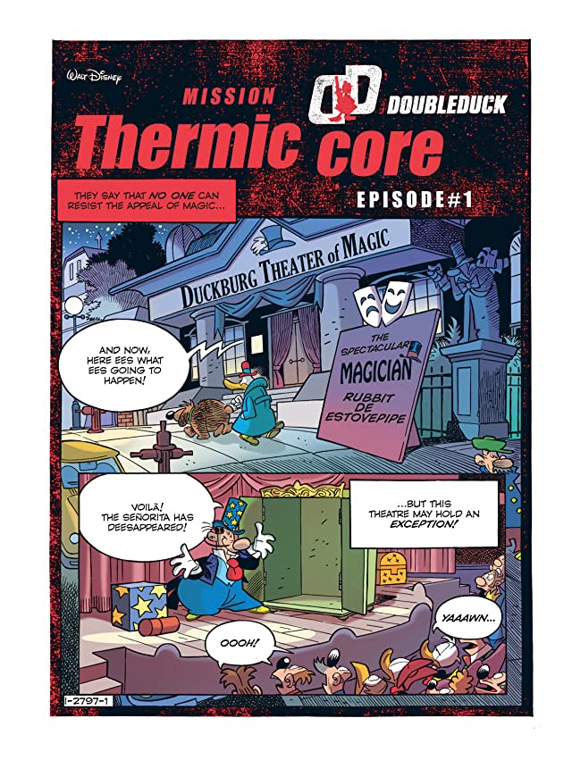 click for super-sized previews of DoubleDuck #8: Mission Thermic Core #1