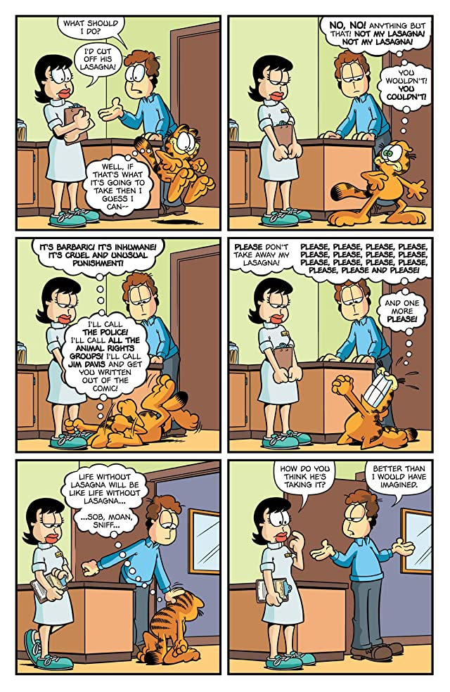 click for super-sized previews of Garfield #13
