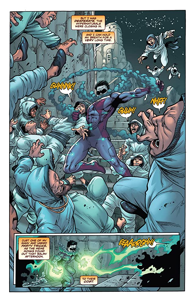 click for super-sized previews of The Hypernaturals #11